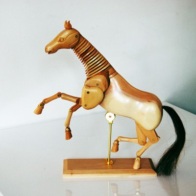 Wooden Horse 12 inches