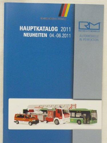 rietze Haupt Katalog 2011 Modellauto