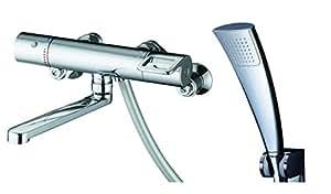 TOTO 浴室用 壁付サーモスタットシャワー金具(めっきエアインシャワーヘッド) GGシリーズ TMGG40ECR