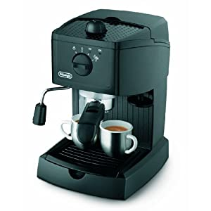 delonghi ec145 machine a cafe expresso et cappuccino solo pompe caf moulu 1 l 1100 w magasin. Black Bedroom Furniture Sets. Home Design Ideas