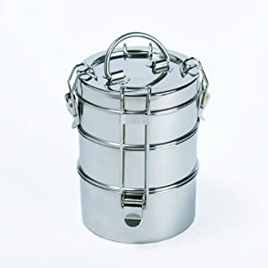 To-Go Ware Stainless Steel Lunchbox 3 Tier