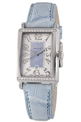 Gevril Women's 7247NT Avenue of Americas Blue Diamond Watch by Gevril