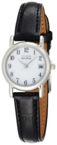 Citizen Women's EW1270-06A Eco-Drive Leather Watch