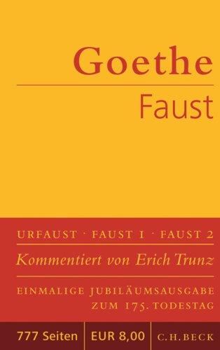 Johann Wolfgang von Goethe: Faust: Der Tragödie erster Teil