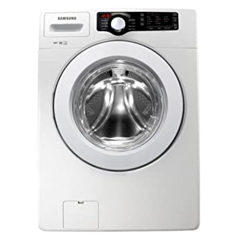 Samsung WF361BVBEWR 3.6 Cu. Ft. White Stackable Front Load Washer - Energy Star