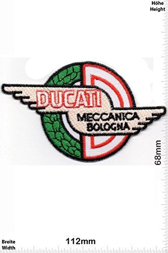 Patch - Ducati - Meccanica Bologna - Motorbike Team - Motorbike - Motorsport - Motorcycles - Biker - toppa - applicazione - Ricamato termo-adesivo - Give Away