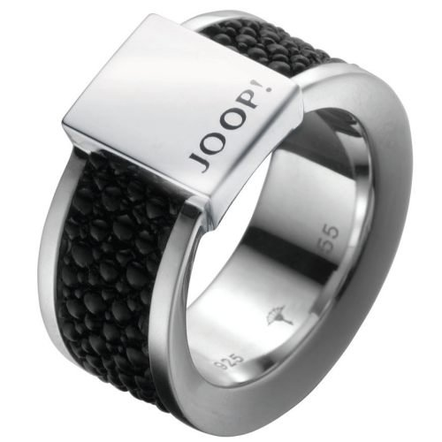 Joop JJ0926 Men's Ring 925 Sterling Silver Black 18.8 mm Size R 1/2