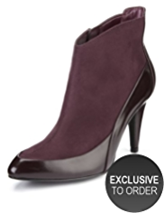 Limited Edition Pointed Toe Ankle Boots with Insolia®