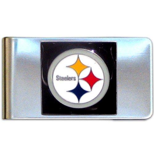 NFL Pittsburgh Steelers Steel Money Clip at SteelerMania