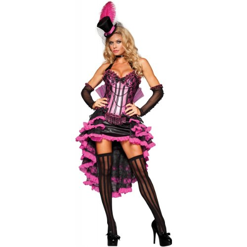 Burlesque Beauty Costume - Large - Dress Size 10-14