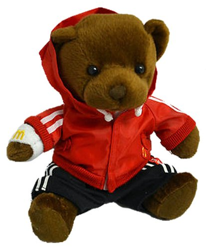 McDonald's I'm Lovin' It Sporty Stylin' Bear Plush
