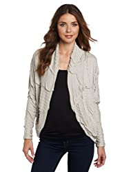 Tt Collection Women's Elson Cardigan, Grey, Medium