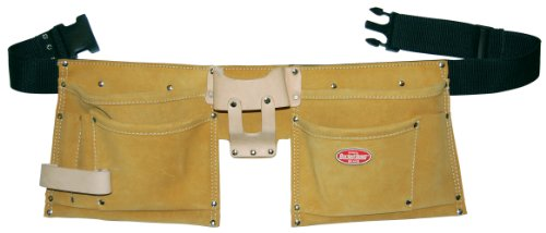 Bucket Boss 53493SP 8 Pocket Suede Leather Waist Apron