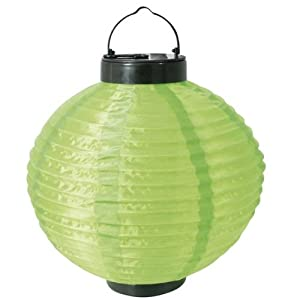 lampion lanterne solaire a led 20 cm lampe jardin vert cuisine maison. Black Bedroom Furniture Sets. Home Design Ideas