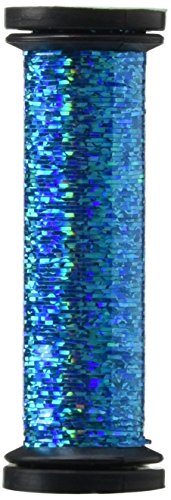 Kreinik Blending Filament 50m Metallic Thread for Sewing, 55-Yard, Electric Blue (Embroidery Machine Thread Blue compare prices)