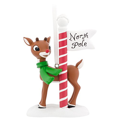 Hallmark Rudolph North Pole Christmas Ornament