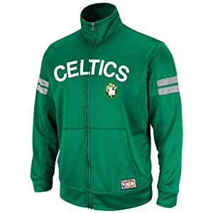NBA Mens Boston Celtics Elevate The Game Full Zip Hoodie By Majestic by Majestic