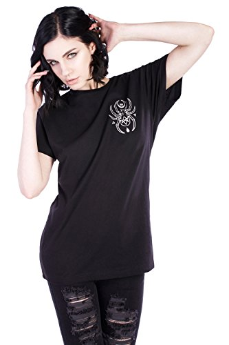 Disturbia Clothing -  T-shirt - Donna nero Medium
