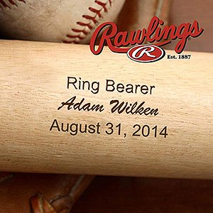 Buy Personalized Wedding Party Baseball Bat by PersonalizationMall.com