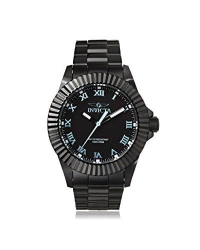 Invicta Men's 16712 Pro Diver Black Ion-Plated Stainless Steel Watch