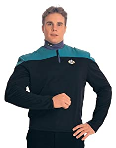 Dr. Bashir Star Trek Costume Uniform Shirt (Teal)