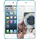 TECHGEAR® **PACK OF 3** - APPLE iPOD TOUCH 5 / 5G / 5th Generation / 4 inch / 2012 / 32GB / 64GB MIRROR Screen Protector with cleaning cloth