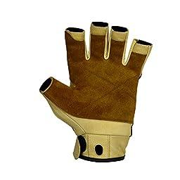 Metolius Grip 3/4 Finger Glove Natural / Black Medium