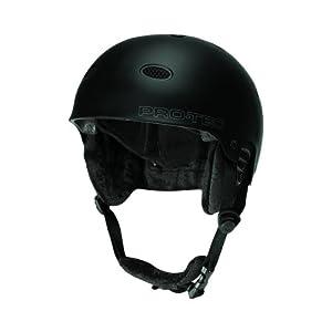Protec B2 Ski Snowboard Helmet Matte Black Sz S