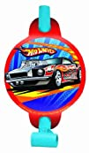 Amscan Hot Wheels Speed City Party Blowouts 8-Count