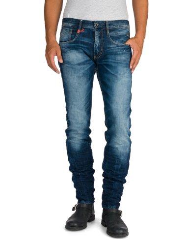 Replay Herren Slim Jeanshose Anbass, Gr. W31/L34 (Herstellergröße: 31), blau (Blue Denim 7) thumbnail