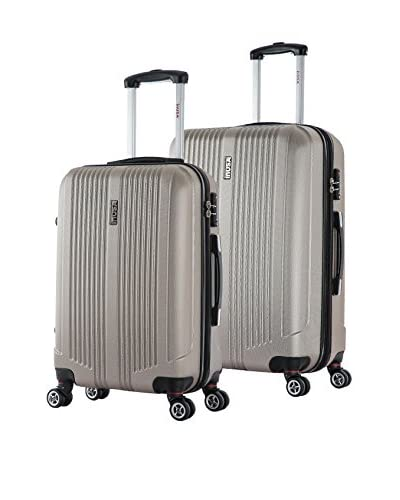 InUSA San Francisco 22 & 26 Hardside Luggage Set, Champagne