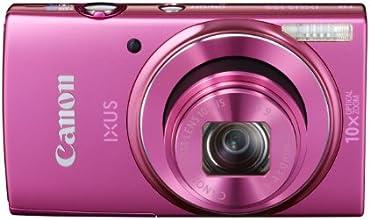 """Canon Ixus 155 Appareil photo numérique compact 20 Mpix Écran LCD 2,7"""" Zoom optique 10X Rose"""