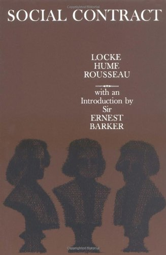 Social contract essays by locke hume and rousseau