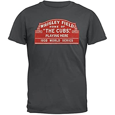 Chicago Cubs Wrigley Field Marquee T-Shirt by Red Jacket