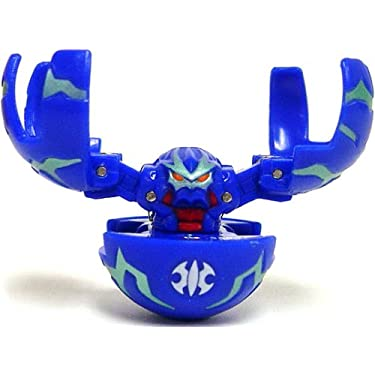 Bakugan Single Loose Figure Aquos Fright Ripper Blue