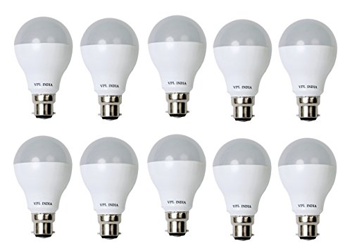 7W Cool Day Light LED Bulb (Pack of 10)