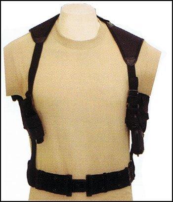 Find Discount Tactical Cross Draw Shoulder Holster--BLACK
