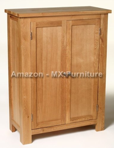 New Solid Oak Toy / Shoe / Filing Storage Cabinet / Cupboard