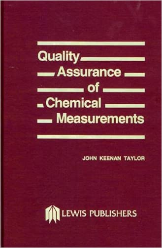 Quality Assurance of Chemical Measurements