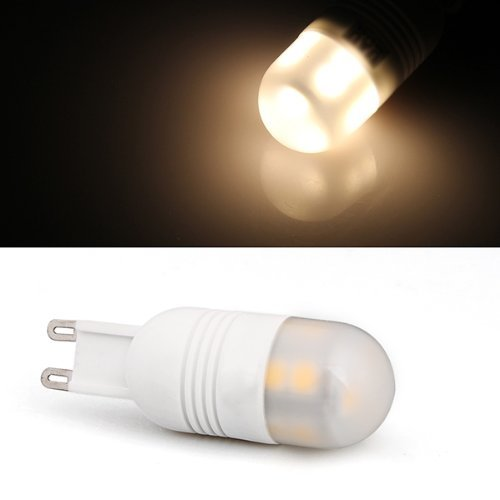 Toogoo(R) G9 Warm White 5050 Smd 13 Led Bulb Spot Light Lamp 2W Ac 220V-240V