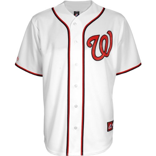 Majestic Youth Washington Nationals Replica Bryce Harper Home Jersey - Size: Large, Washington at Amazon.com