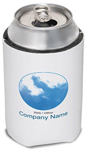Vistaprint Sky Blue Blue Sky Koozies front-1058706