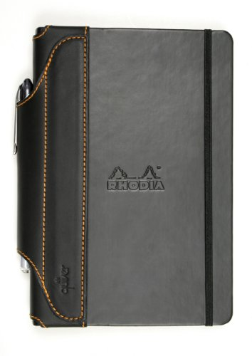 Single-Pen Quiver for Large Rhodia Hard-Cover