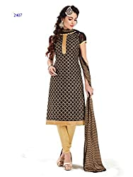 Shoponbit New Look Of Embroidered Salwar Suit