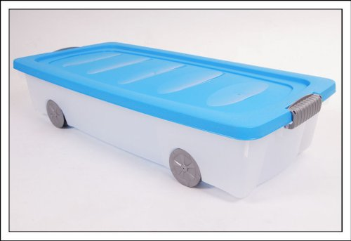 Unterbettkommode mit Rollen 40 Liter  verschiedene Farben  EAN