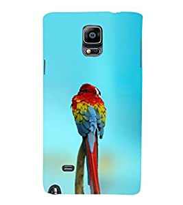 EPICCASE spectacular parrot Mobile Back Case Cover For Samsung Galaxy Note Edge (Designer Case)