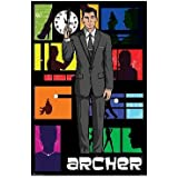 Archer Pop Art TV Poster