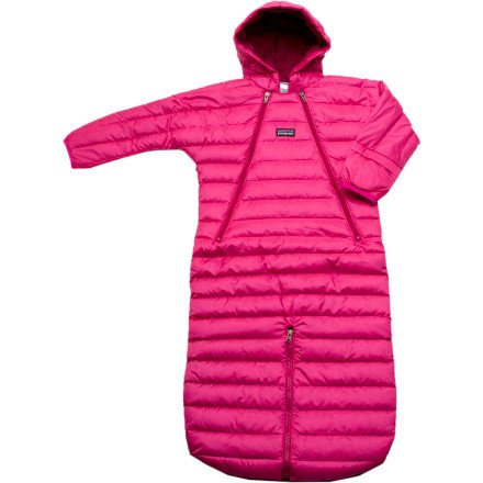 Patagonia Patagonia Down Sweater Bunting - Infant Girls 0M bright pink