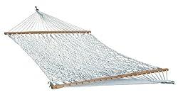 Hangit 13'Ft Large Cotton Rope Hammock In Individual Box