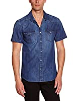 Selected Homme Camisa Hombre (Azul Oscuro)